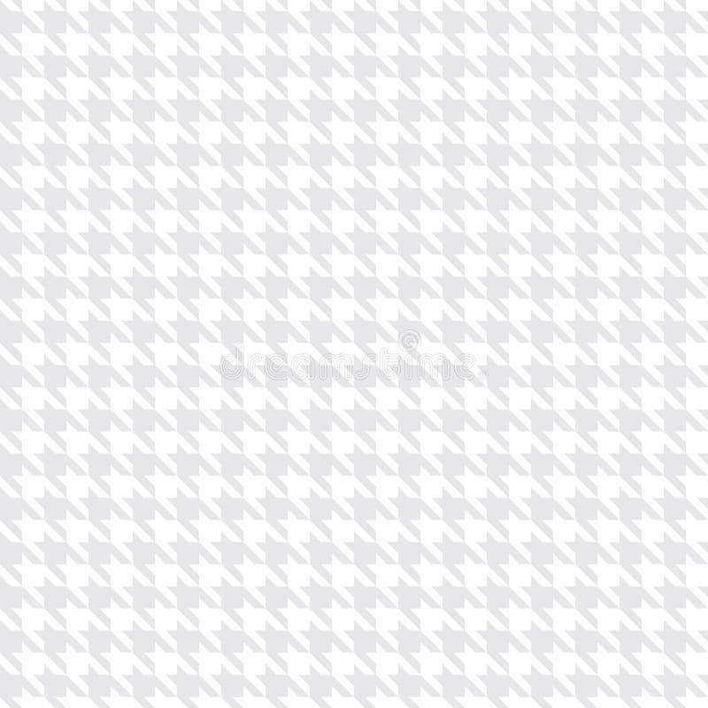 装饰无缝的花卉几何样式背景 库存例证