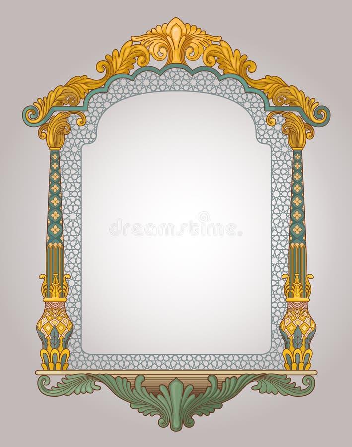 装饰框架视窗 向量例证