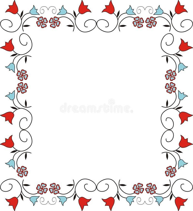 装饰框架 库存例证