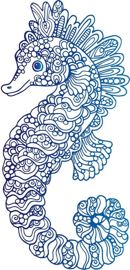 装饰概述海象例证 库存例证