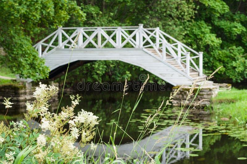 Download 装饰白色木桥的Defocused图象 库存图片. 图片 包括有 历史记录, 室外, beautifuler - 59112069