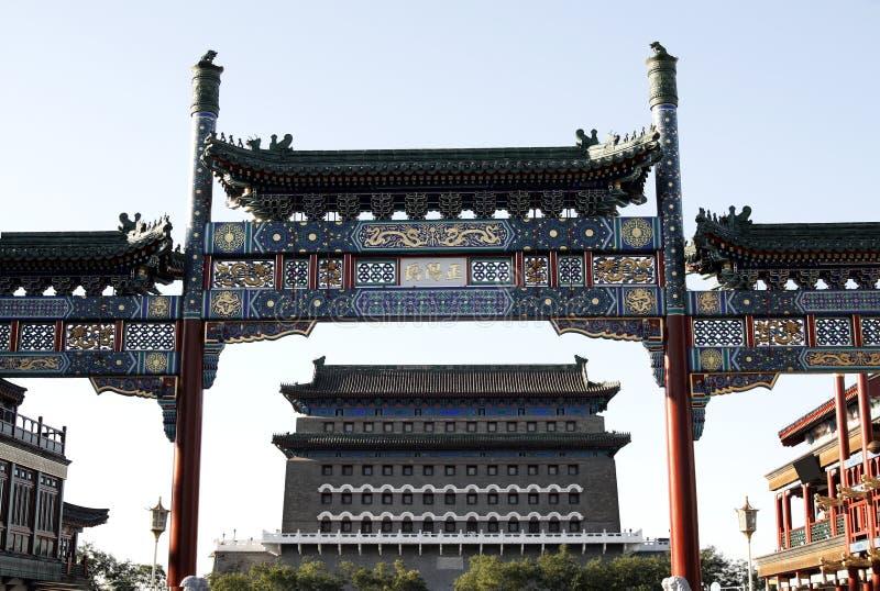 装饰的拱道 免版税库存照片