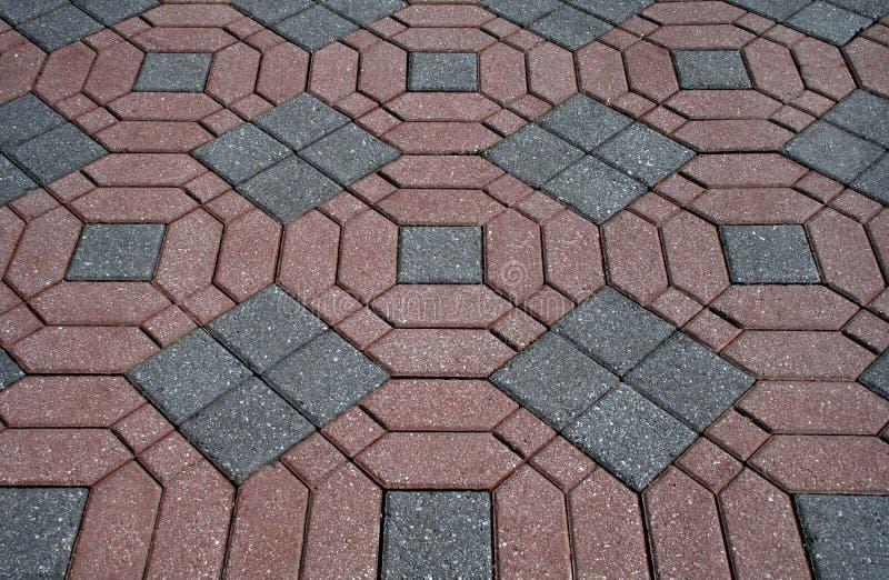 装饰的砖 免版税库存图片