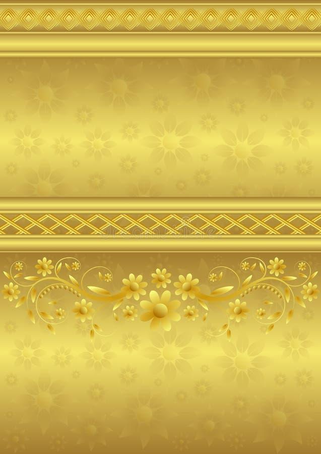 装饰的背景 皇族释放例证