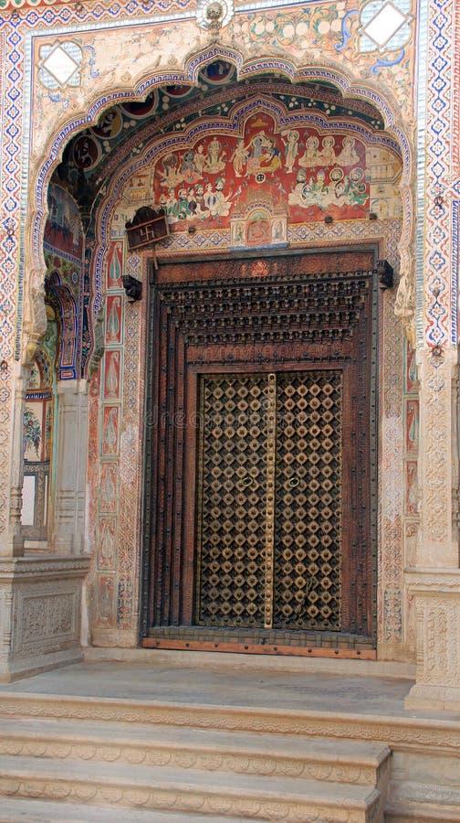 装饰的门道入口 库存图片