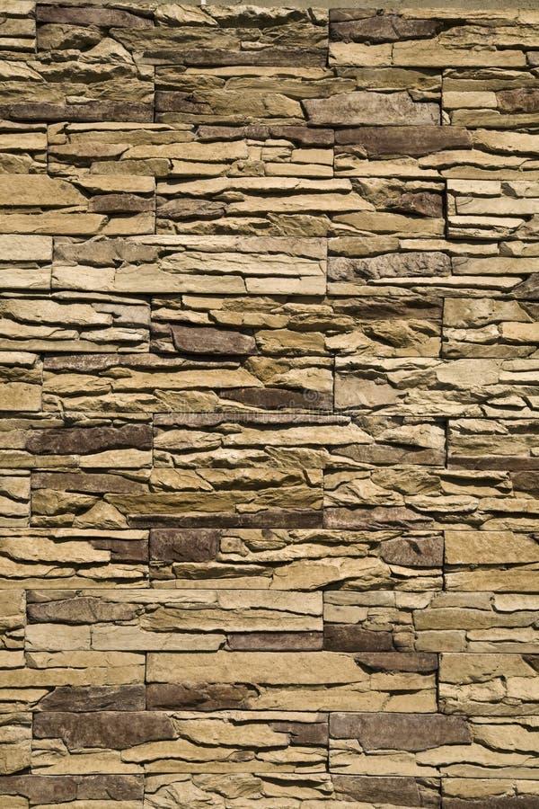 装饰石墙 免版税库存照片