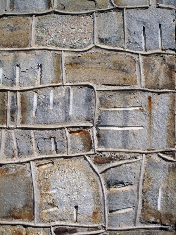 装饰石墙 库存图片