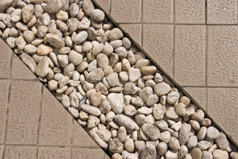 装饰石结构方式 免版税图库摄影