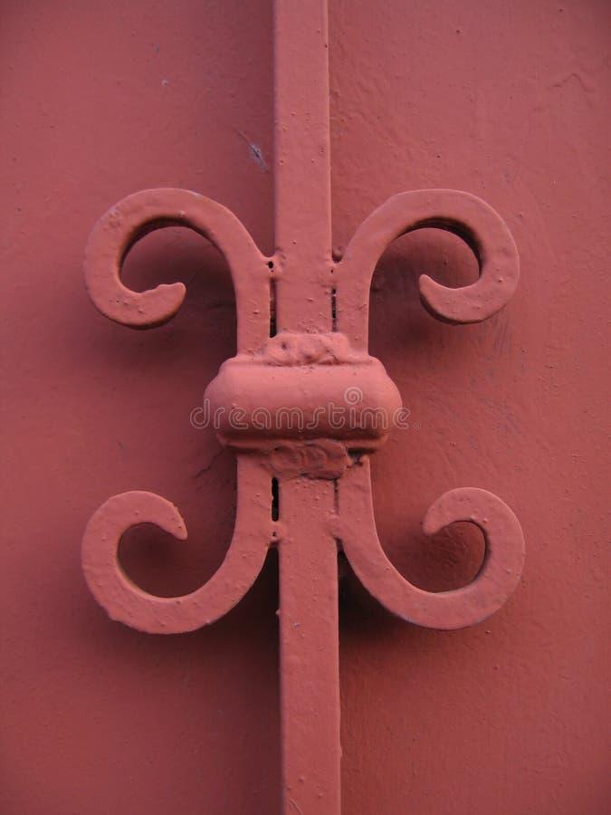 装饰红色墙壁 库存照片