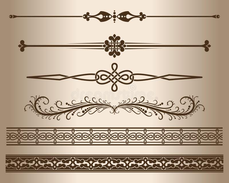 装饰线路 向量例证