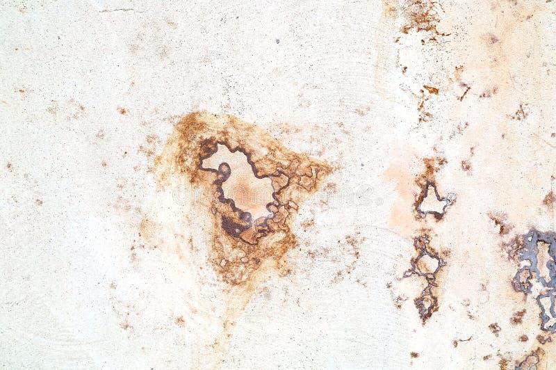 装饰膏药葡萄酒纹理或自然水泥或老石头脏的白色背景  关闭 库存图片