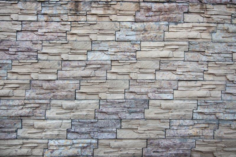 装饰自然瓦片现代墙壁  免版税库存照片