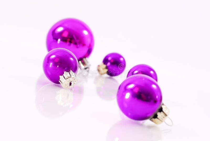 装饰节假日紫色 免版税库存照片