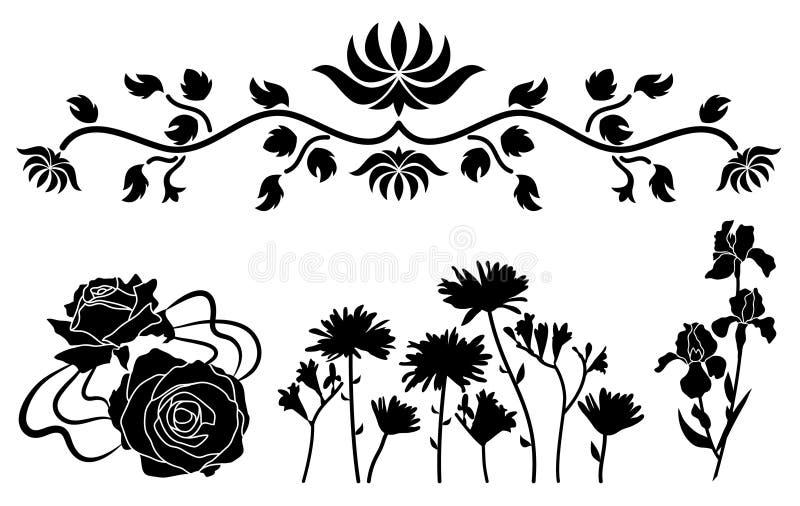 装饰花装饰品 皇族释放例证