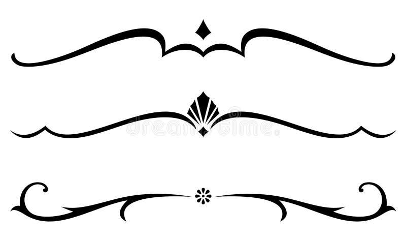装饰规则向量 皇族释放例证
