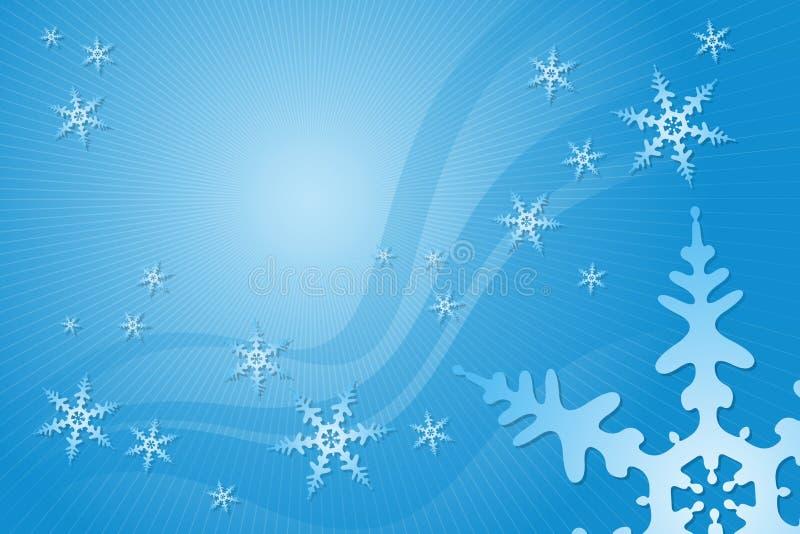 装饰雪花 向量例证