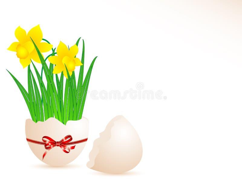 装饰鸡蛋 图库摄影