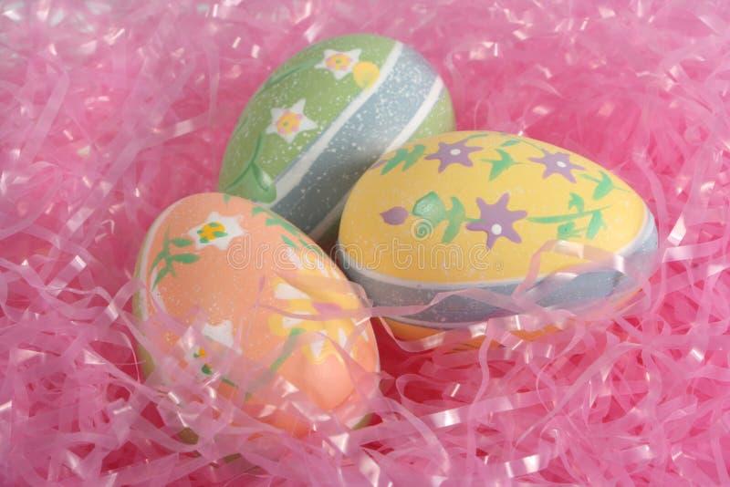 装饰鸡蛋 库存图片