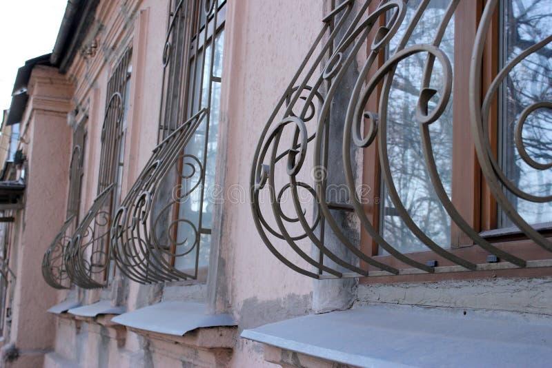 装饰,元素,城市 金属,栅格,篱芭,样式 库存照片