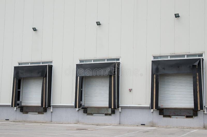 装货场 免版税库存照片