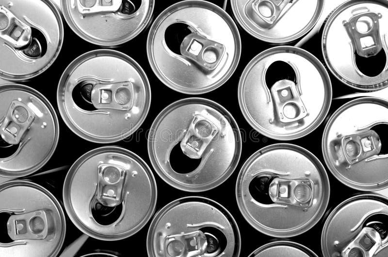 装epmty于罐中 免版税库存照片
