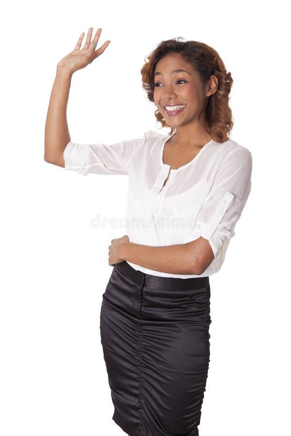 Download 裙子的美丽的妇女挥动给朋友。 库存图片. 图片 包括有 豪华, 电话会议, 种族, 典雅, 拉丁语, 有吸引力的 - 30330275