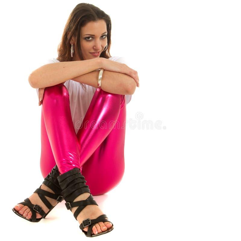 裤子粉红色 免版税库存照片