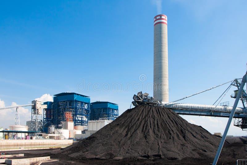褐煤质量 免版税图库摄影