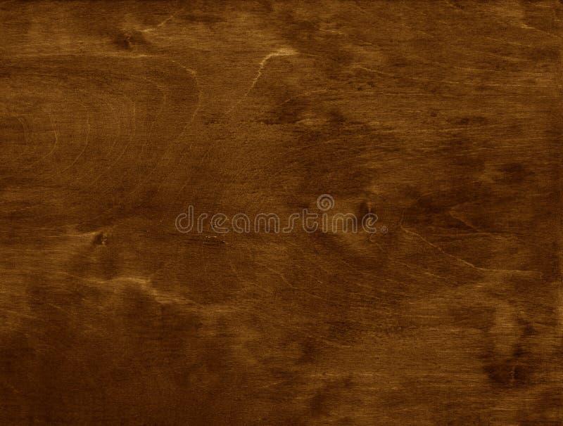 黑褐色自然木背景 免版税库存图片