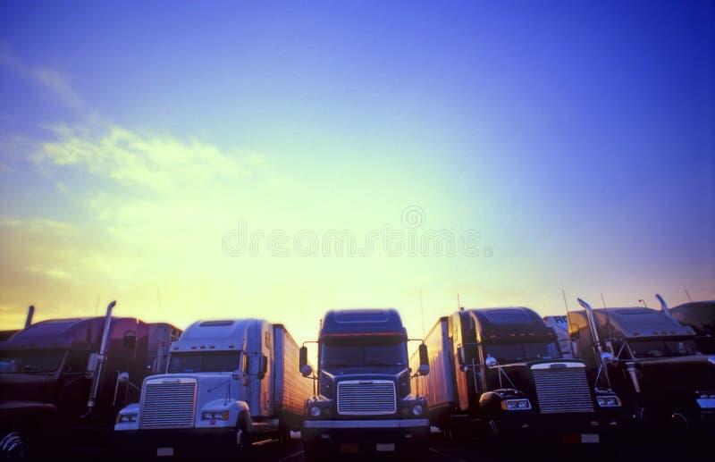 褶裥和运输 免版税图库摄影