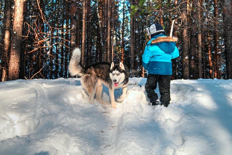 西伯利亚爱斯基摩人和婴孩 库存照片