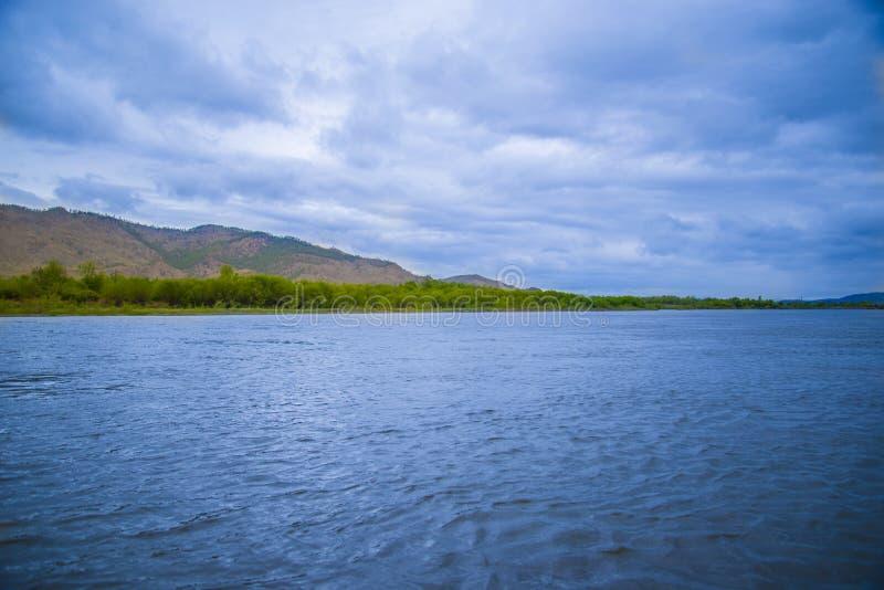 西伯利亚自然秀丽  免版税库存图片