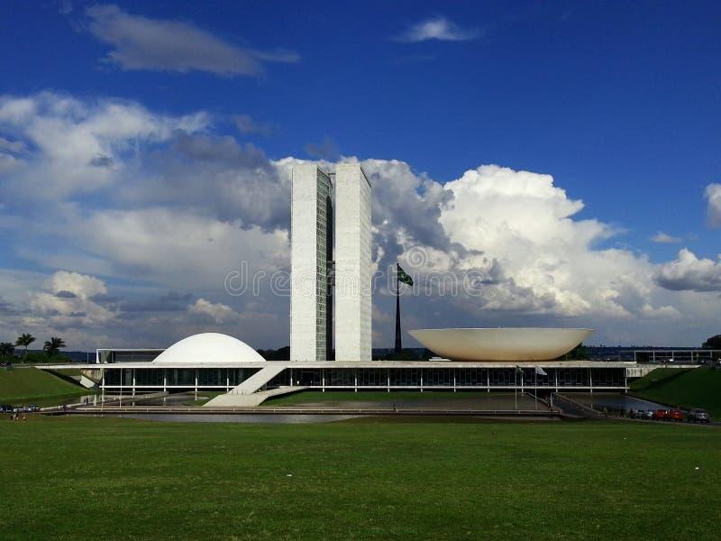 巴西利亚 库存照片