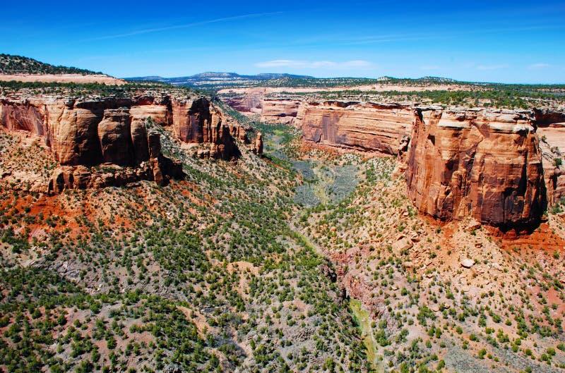 西南峡谷的mesas我们 库存照片