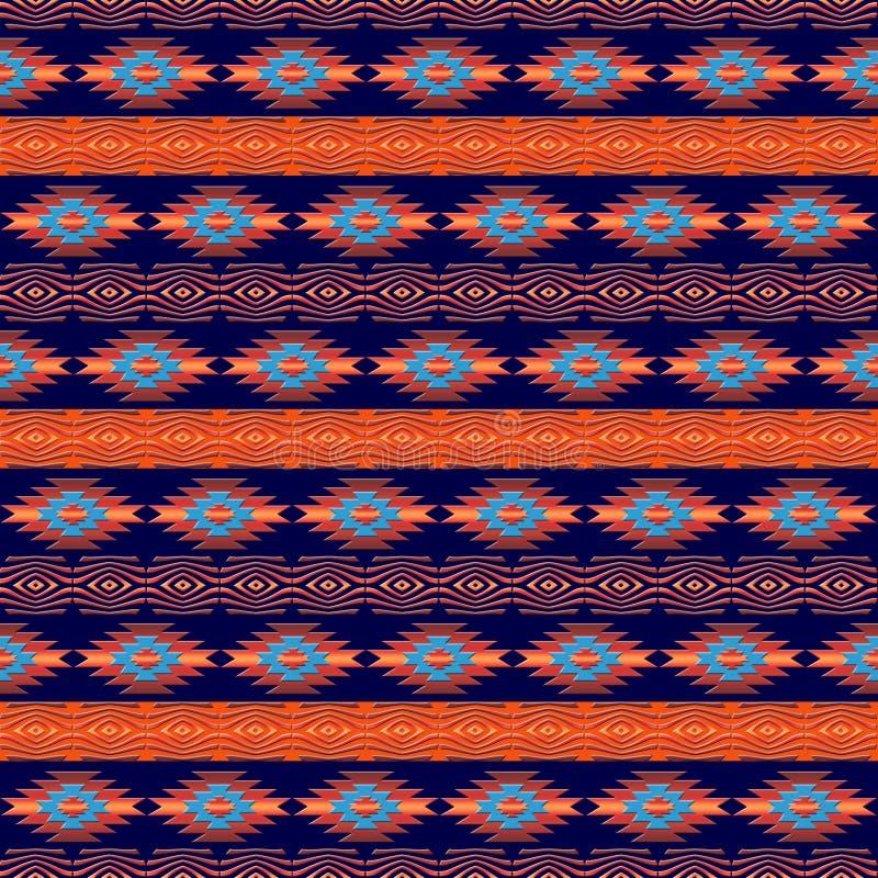 西南那瓦伙族人种族样式 皇族释放例证
