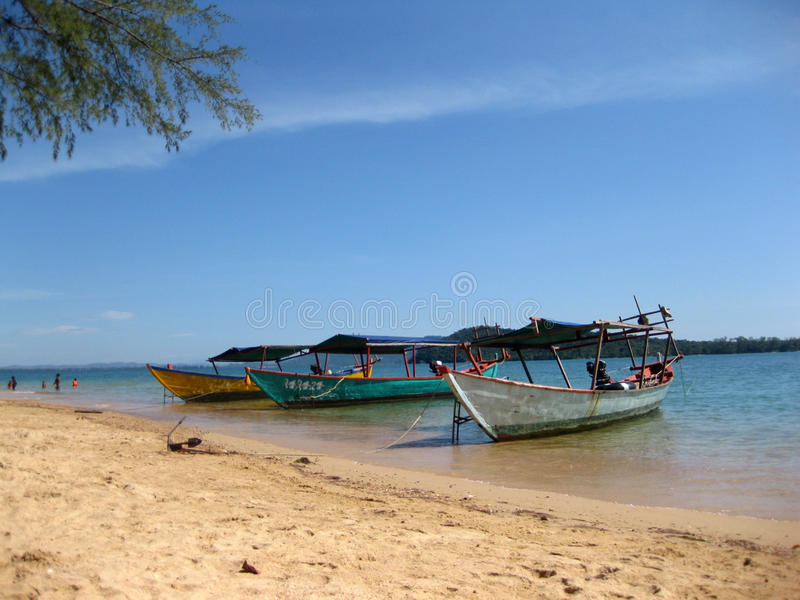 西哈努克柬埔寨 库存照片