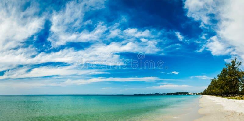 西哈努克海滩,柬埔寨 库存照片