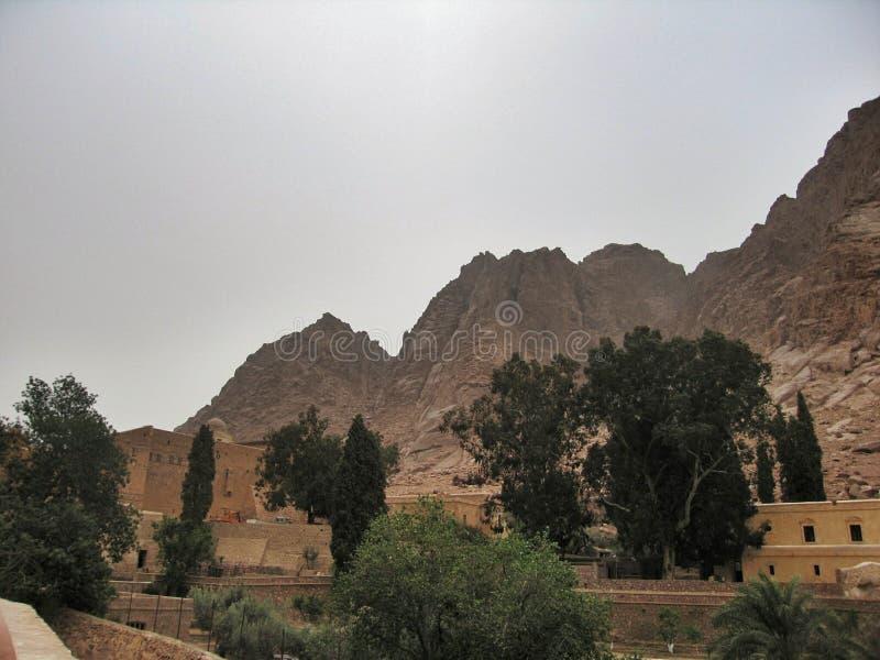 西奈修道院 免版税库存照片