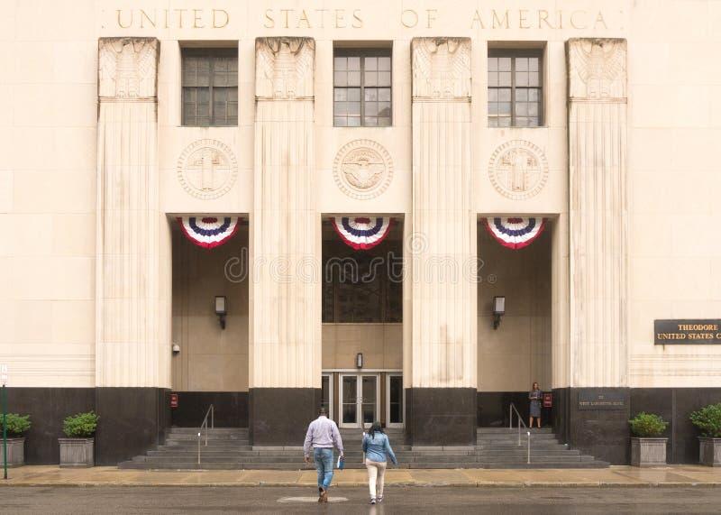 西奥多Levin美国法院大楼 库存图片