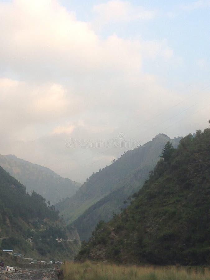 西姆拉山Abbotabad 免版税库存图片