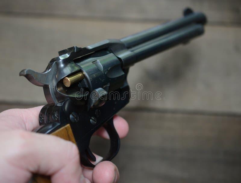 西左轮手枪 免版税库存照片