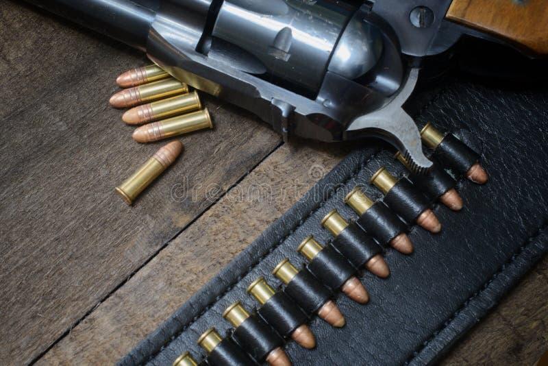 西左轮手枪 免版税图库摄影