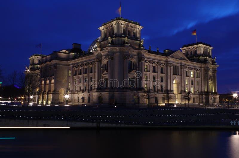 西德联邦议会 免版税库存图片