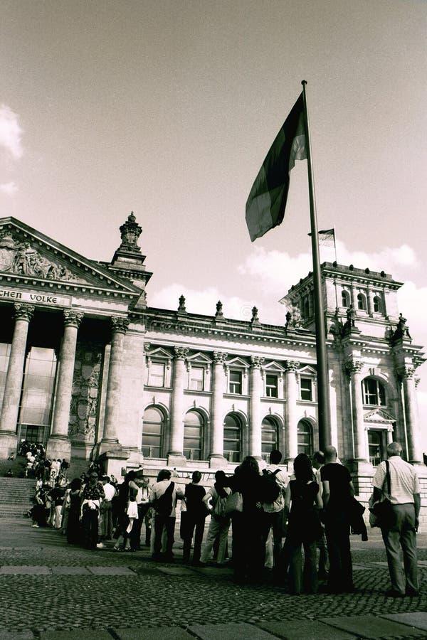西德联邦议会 免版税库存照片