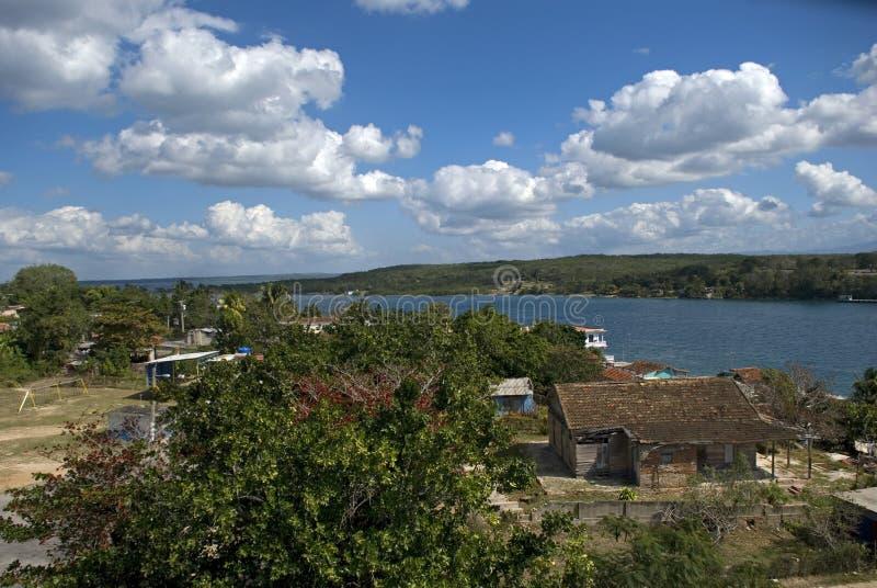 西恩富戈斯海湾,古巴 免版税库存图片
