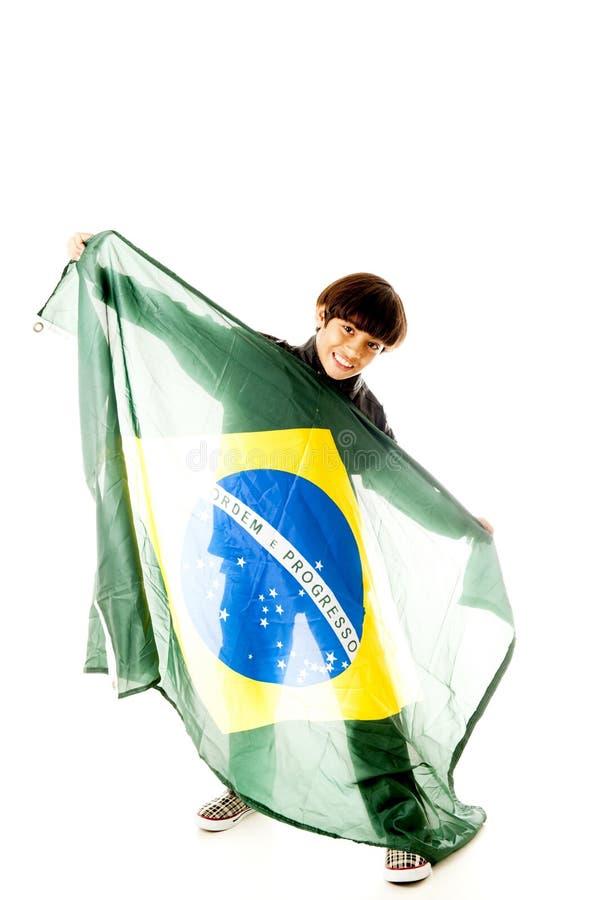巴西支持者 免版税库存照片