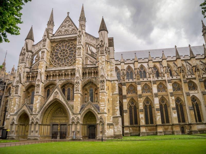 西敏寺,哥特式教会在伦敦,英国 免版税库存照片