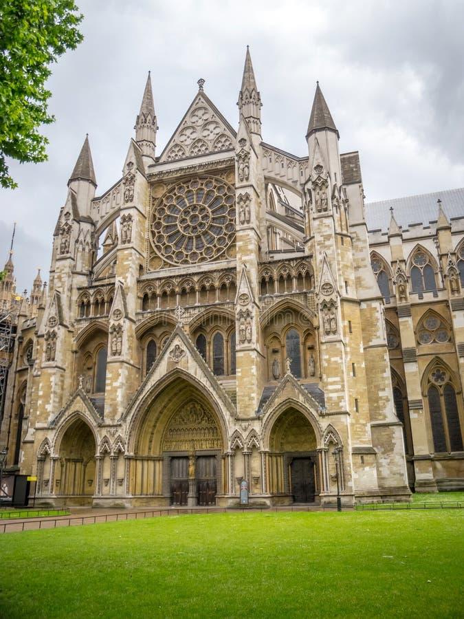 西敏寺,哥特式教会在伦敦,英国 免版税图库摄影