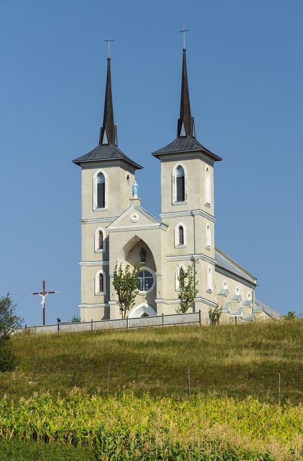 西方乌克兰,天主教教会 免版税库存图片