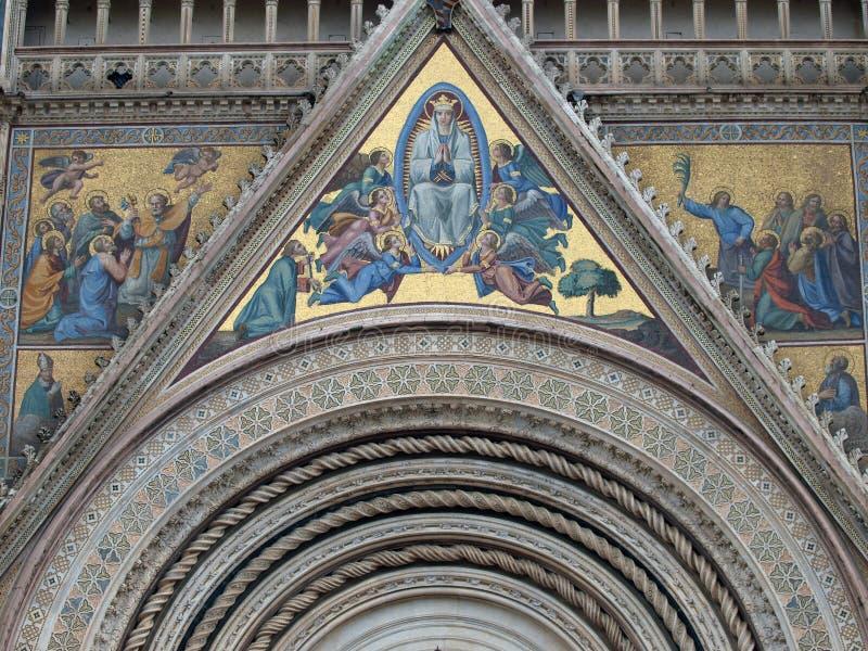 西方假定主要玛丽的门户 图库摄影